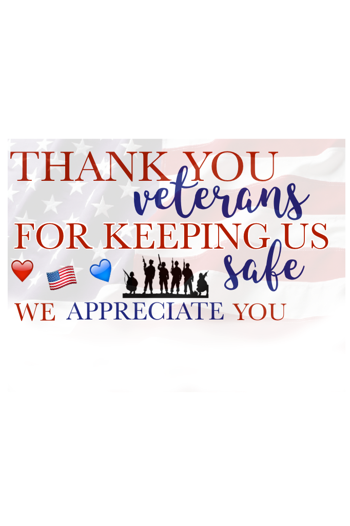 veterans day!! ❤️💙