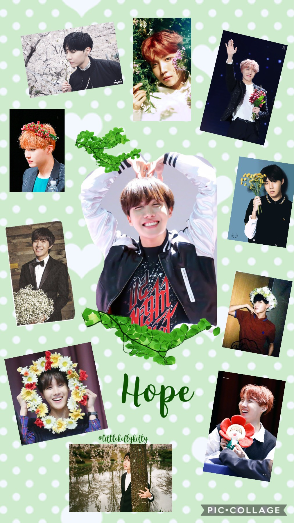 """I'm your hope. I'm your angel. I'm J-hope!✨""~"