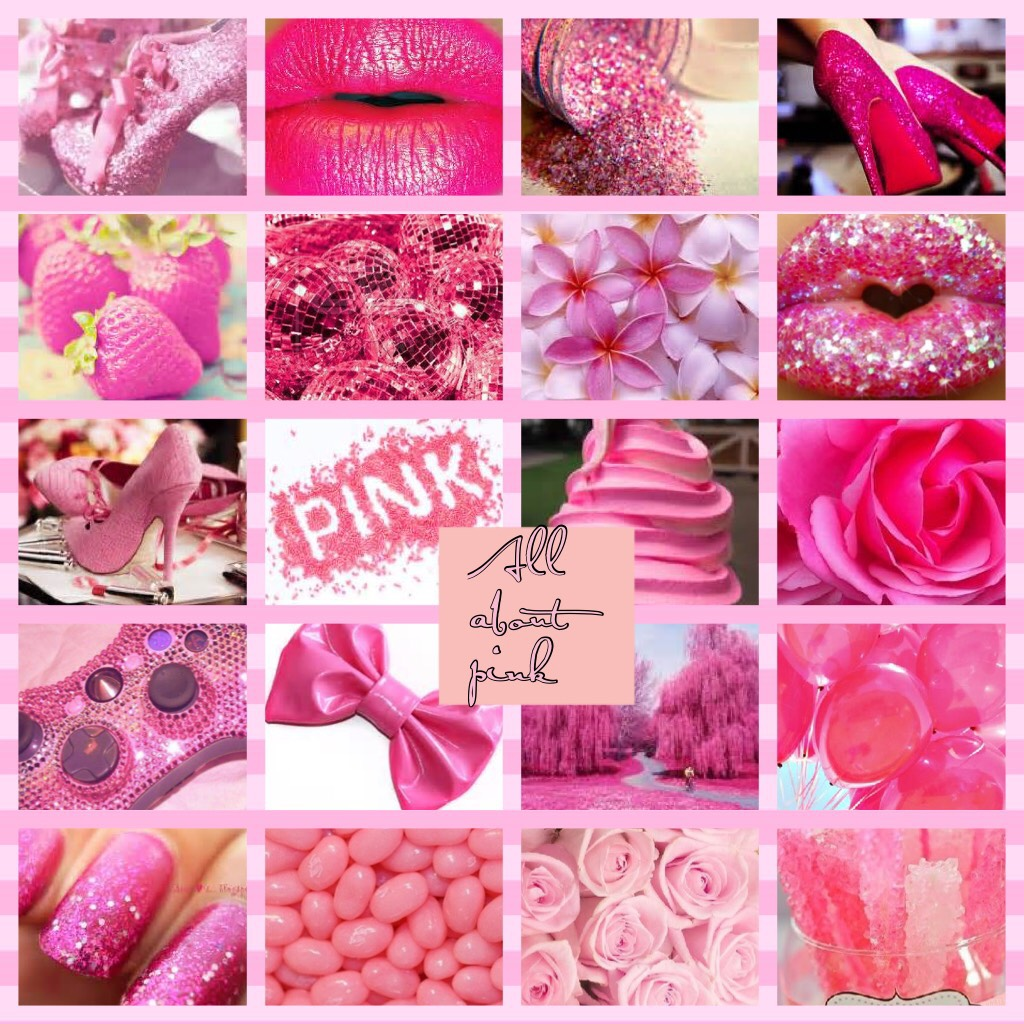 All about pink