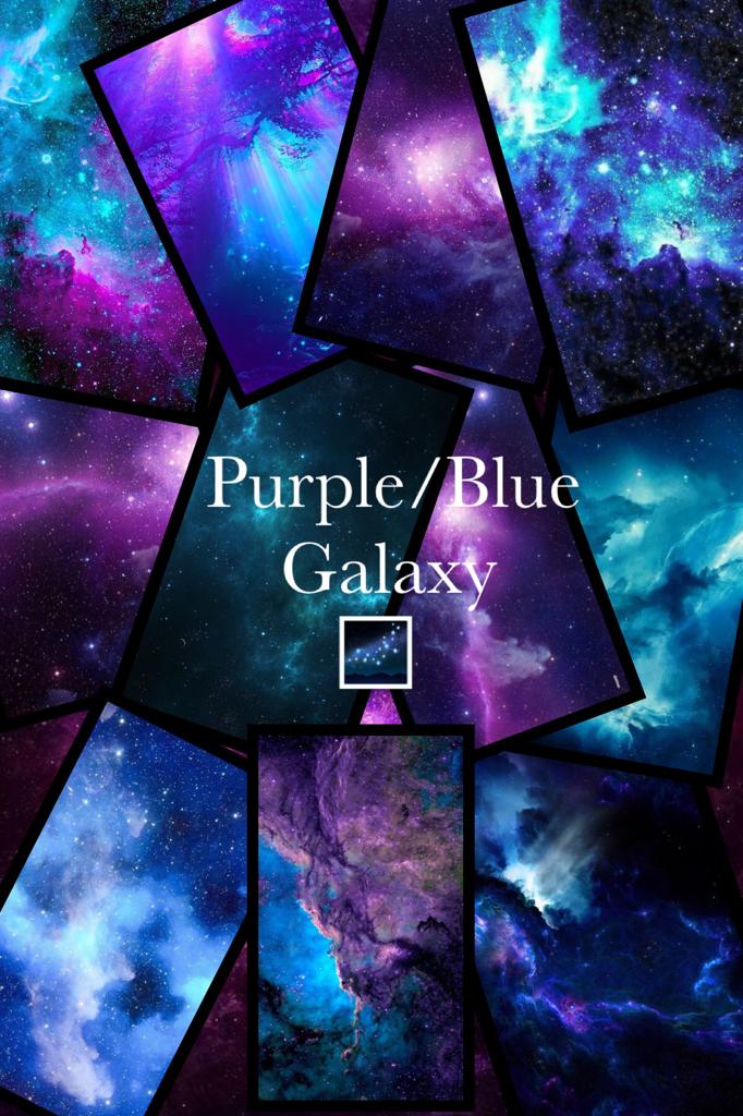 Purple/Blue     Galaxy        🌌