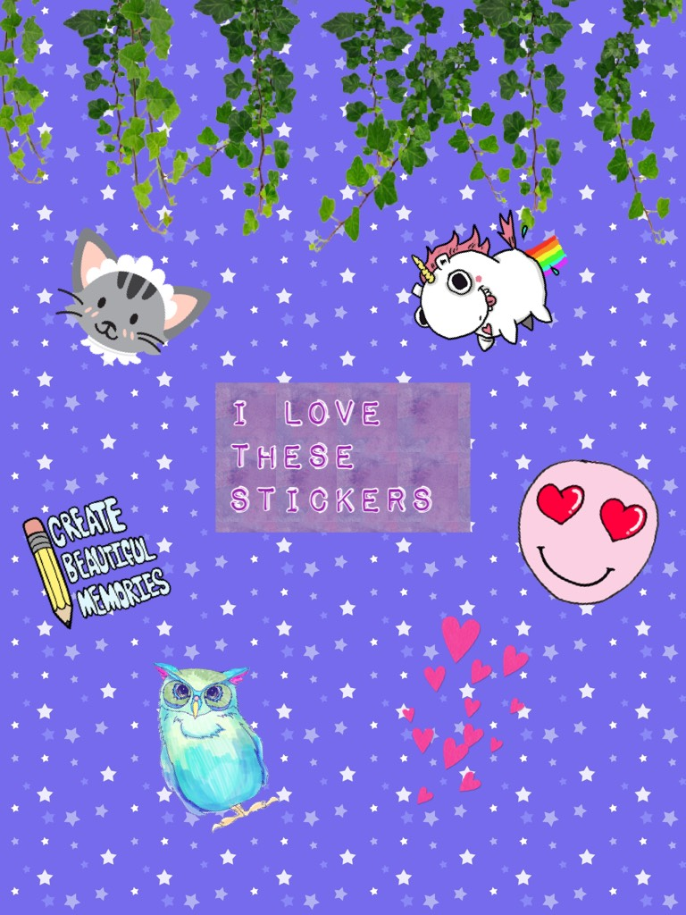 My fav stickers!!!!!! They are so cute!!!!💖💝💘