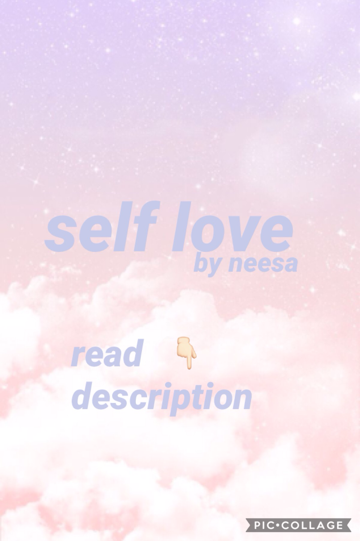 should I start a blog for self love? -neesa 💜