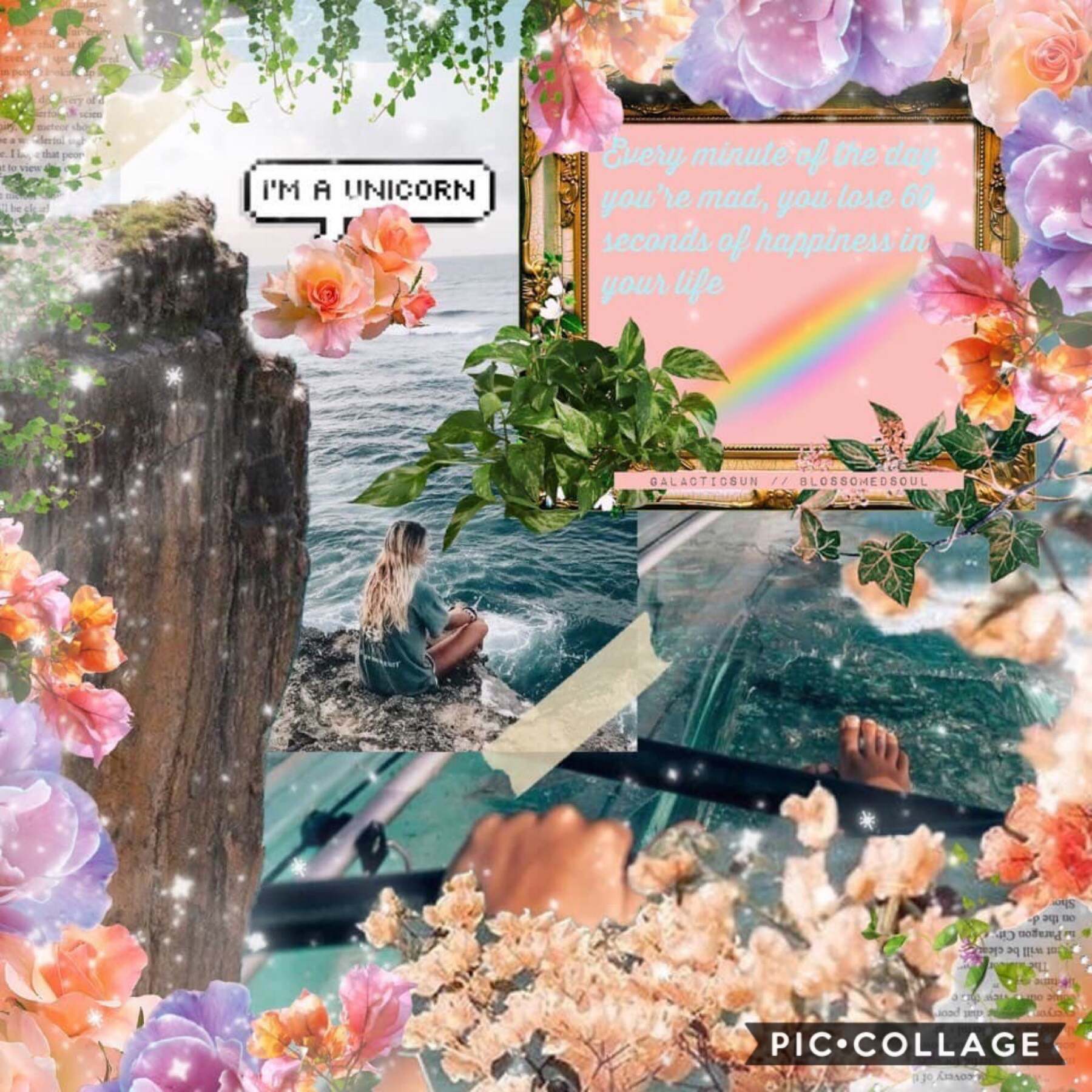 [ t a p ]  omg i'm so sorry for all of the inactivity, i've been out of inspo for the longest time and school has been getting into the way 🦋 here's a collab with @galacticsuns ❤️ she did the beautiful text while i did the bg ⚡️🌿