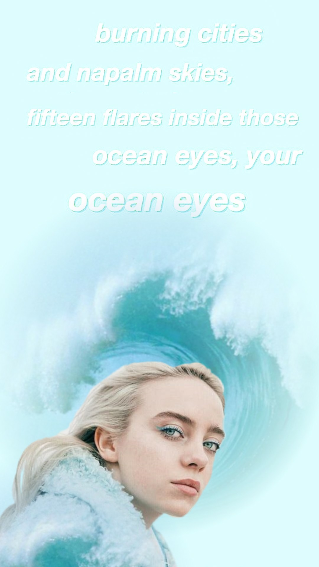 Billie... ocean eyes