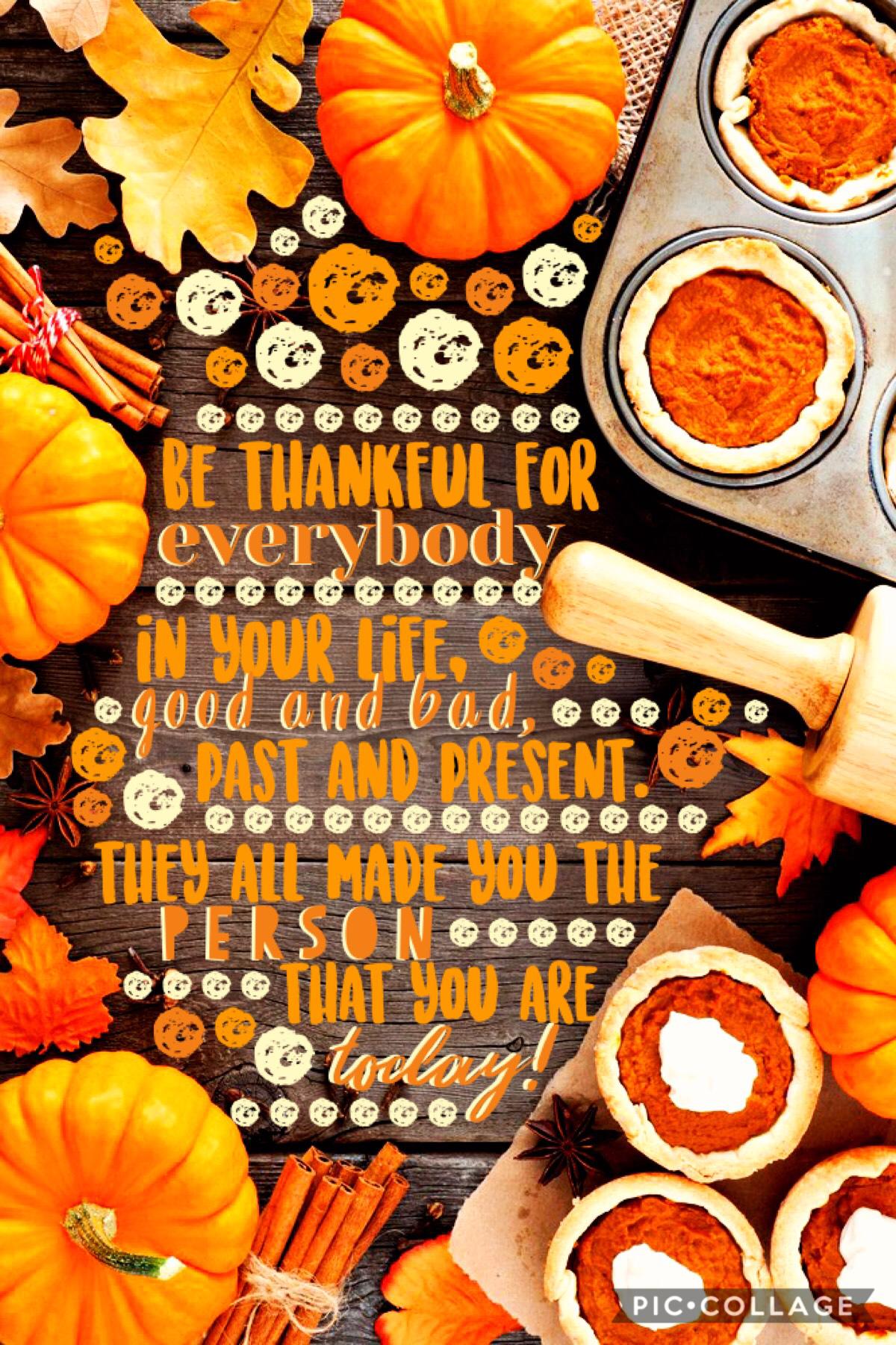 Happy Thanksgiving! 🦃🍁🍽🥧🍂🧡😊