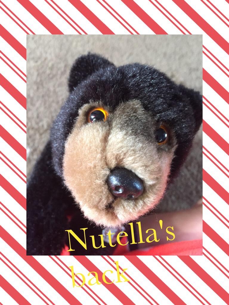 Nutella's back