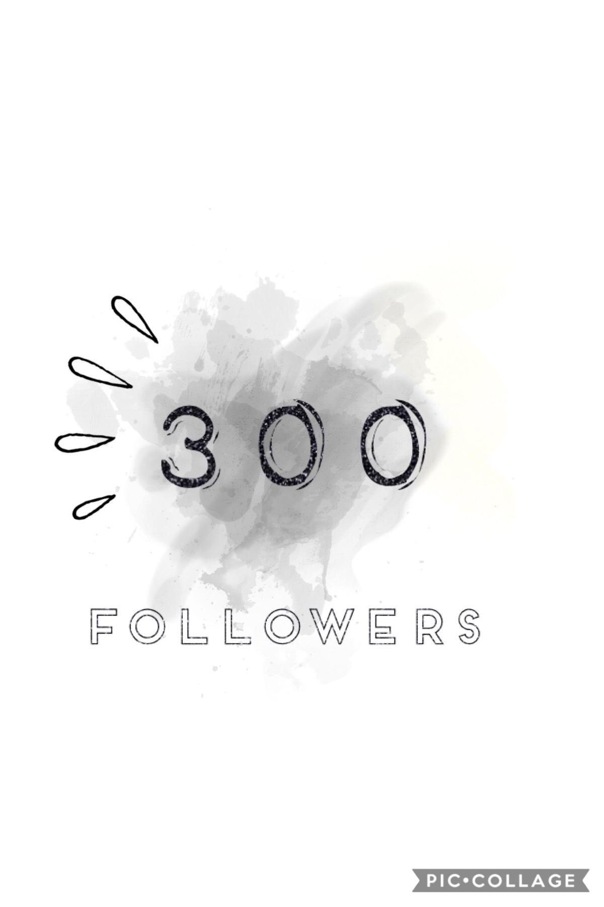 Thanks for three hundred!👍