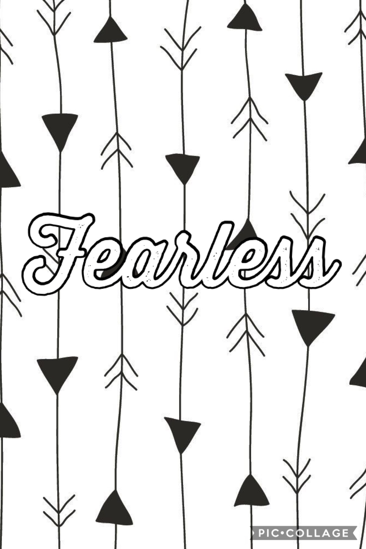 Be Fearless! Tap!  Be fearless because you can trust that God is in control! Plz enter my summer games!!!!
