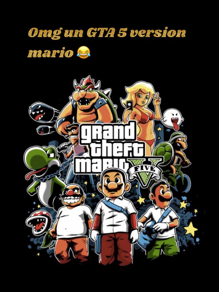 Omg un GTA 5 version mario 😂