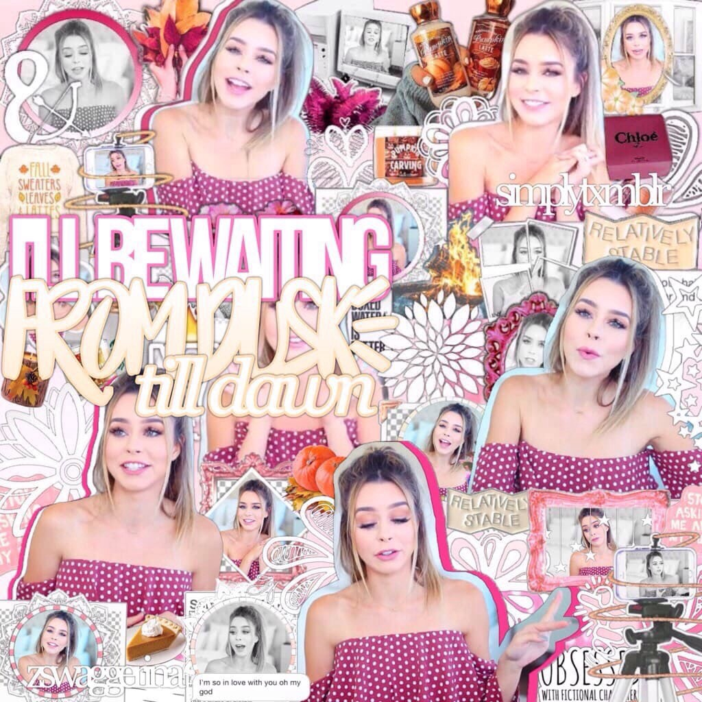 :) tap Hey, so this was a collab with Kelli aka Zswaggerina! She is bomb at text and editing I'm like obsessed with her account 😂 please watch gossip girl or how I met your mother on Netflix there both the best shows ever!!😂🍁 oh and this is my first fall