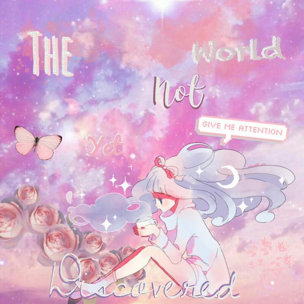 "💗Tap💗   ""The world not yet discovered""   Anime Edit"