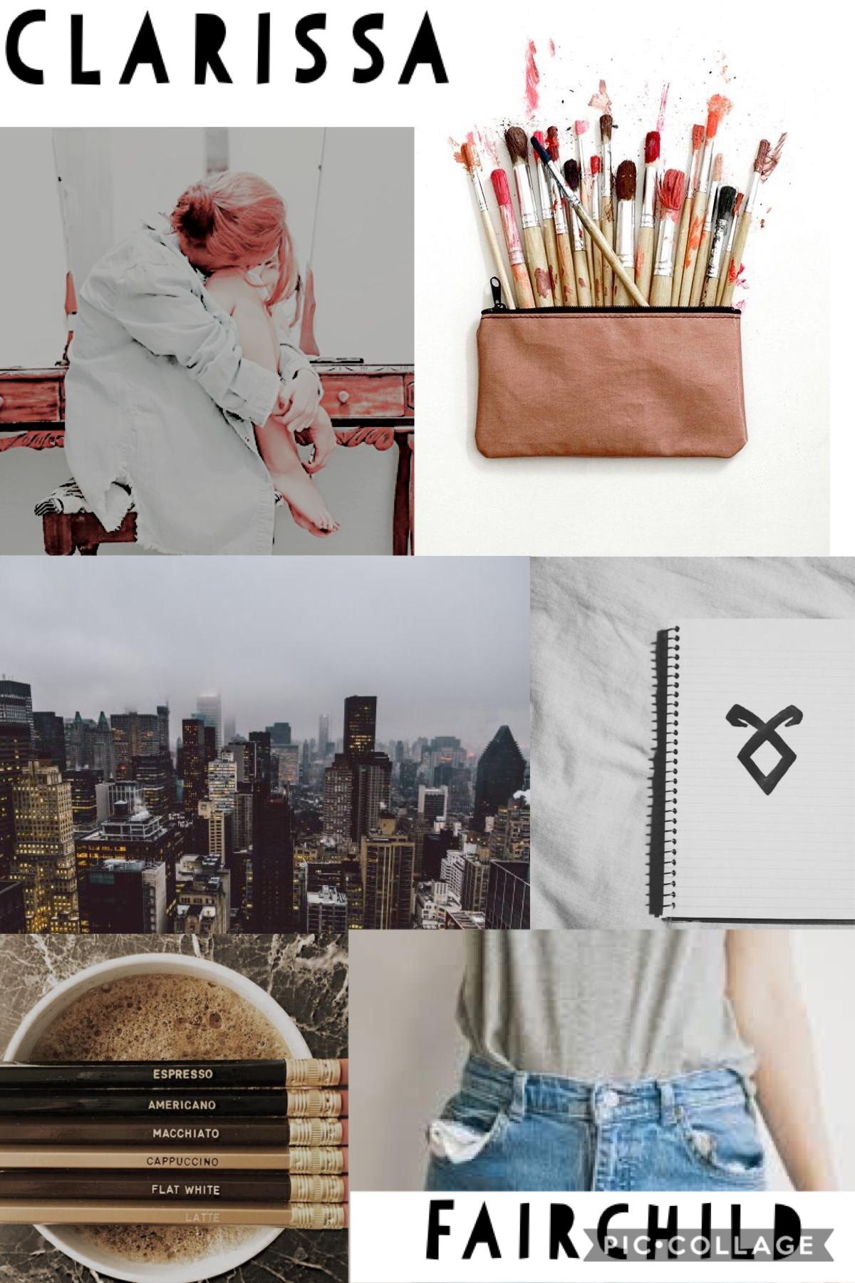 Clary Fairchild aesthetic