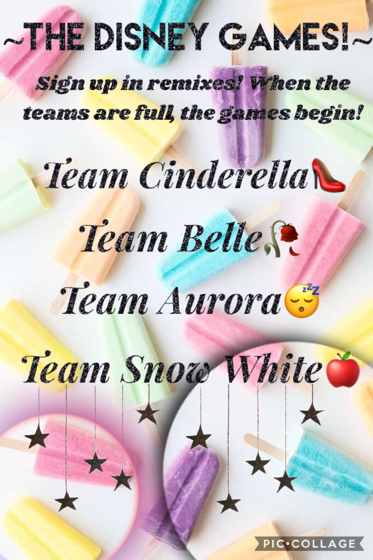 So... I'm redoing this! Each team will have 4 members, make sure to read through the comments to see if teams are full.😄