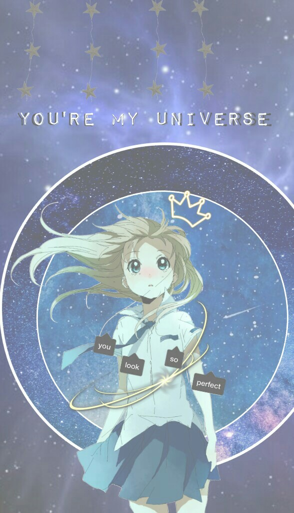 """💫Tap💫  Anime Edit  💫✨""""You're my universe""""✨💫"""