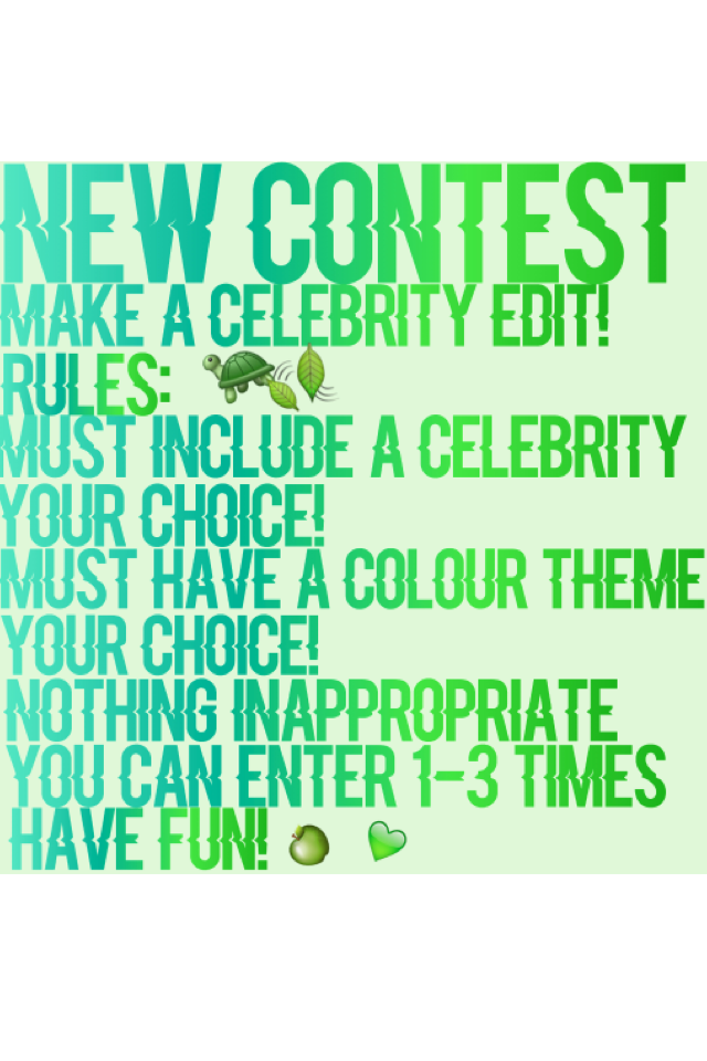 💚💚c̾l̾i̾c̾k̾💚💚 Ends when I get at least 10 entries Prizes will be announced when the winners are chosen
