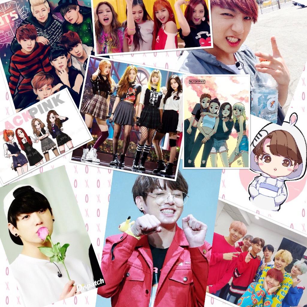 K-pop fan girl