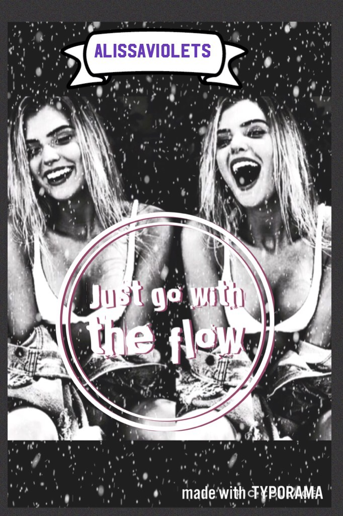 Alissaviolets just go with the flow!✨violet here