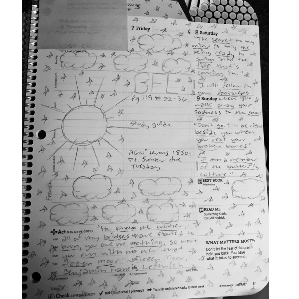 agenda doodles pt.2 ~emi
