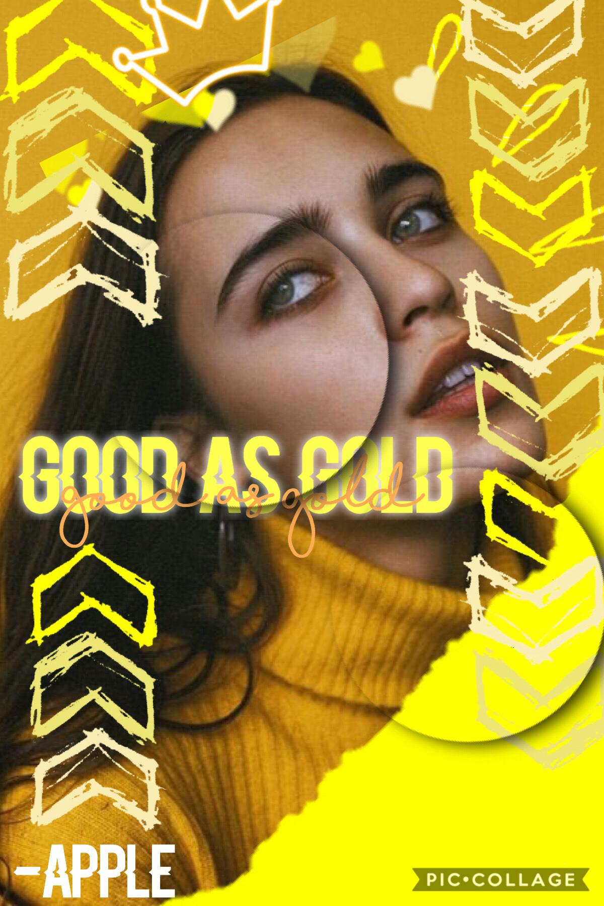 Good as gold!💛