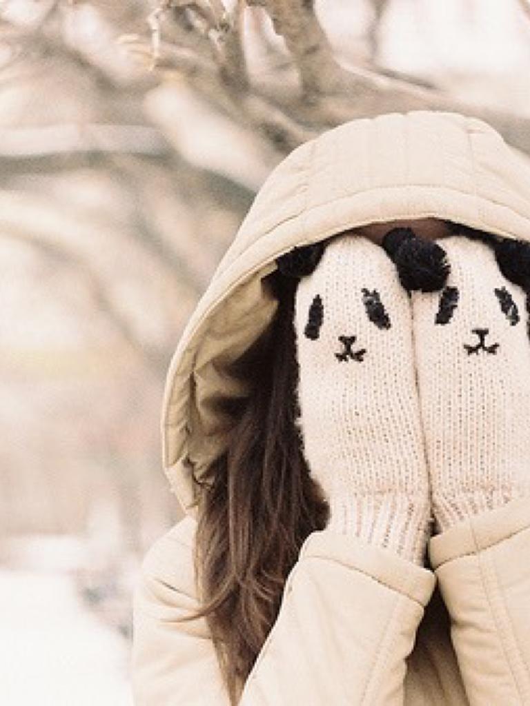 Аватарки девушка зима