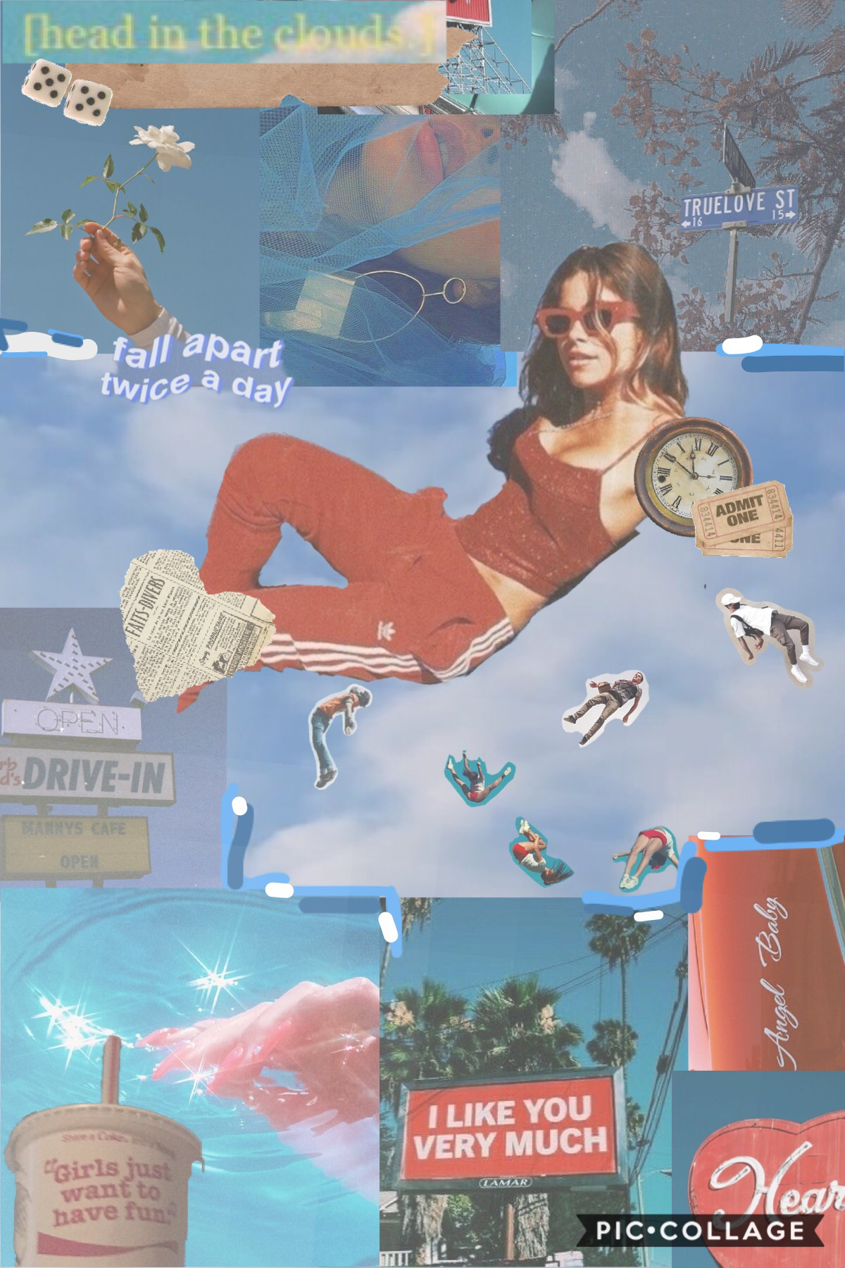 💦tap💦  here is another collage!!!!  please give honest feedback on my new style and what i should do to make it the best it can be!  8/19/20