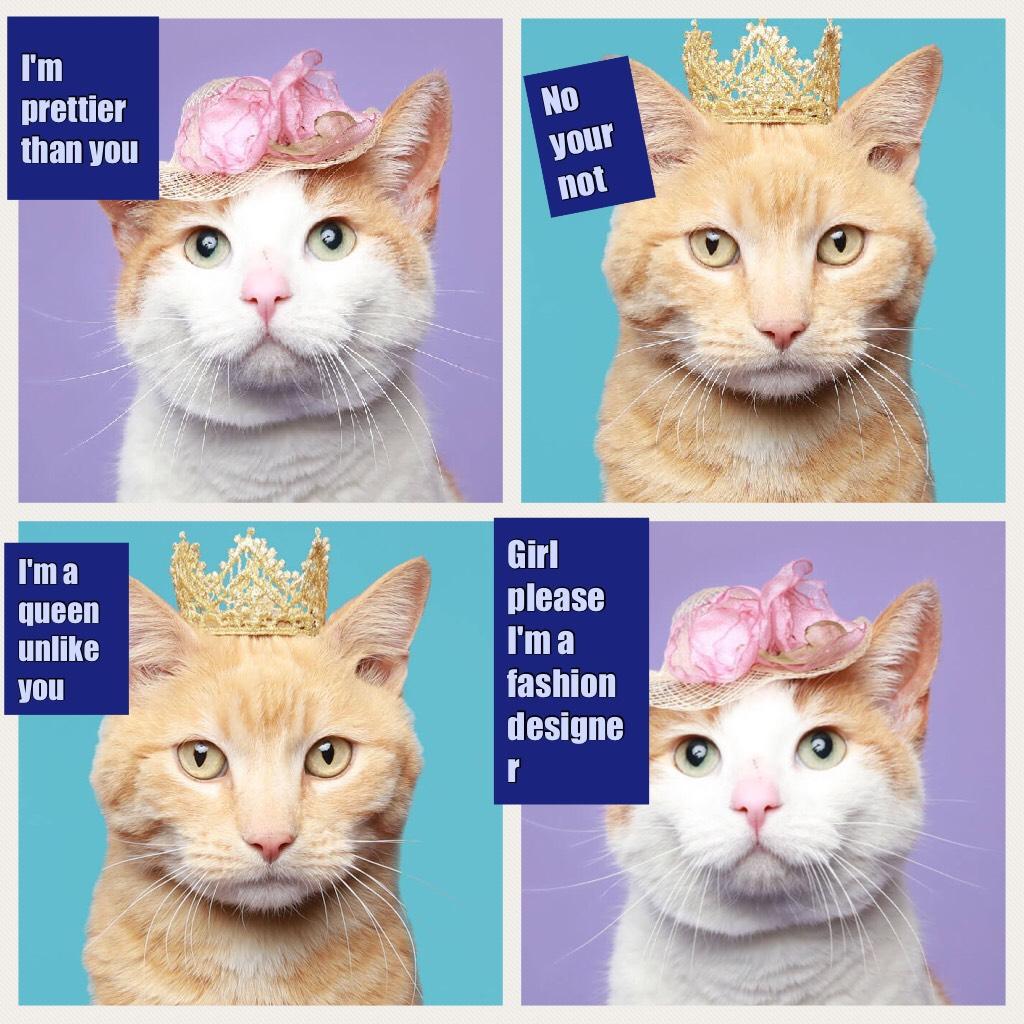 I'm prettier than you