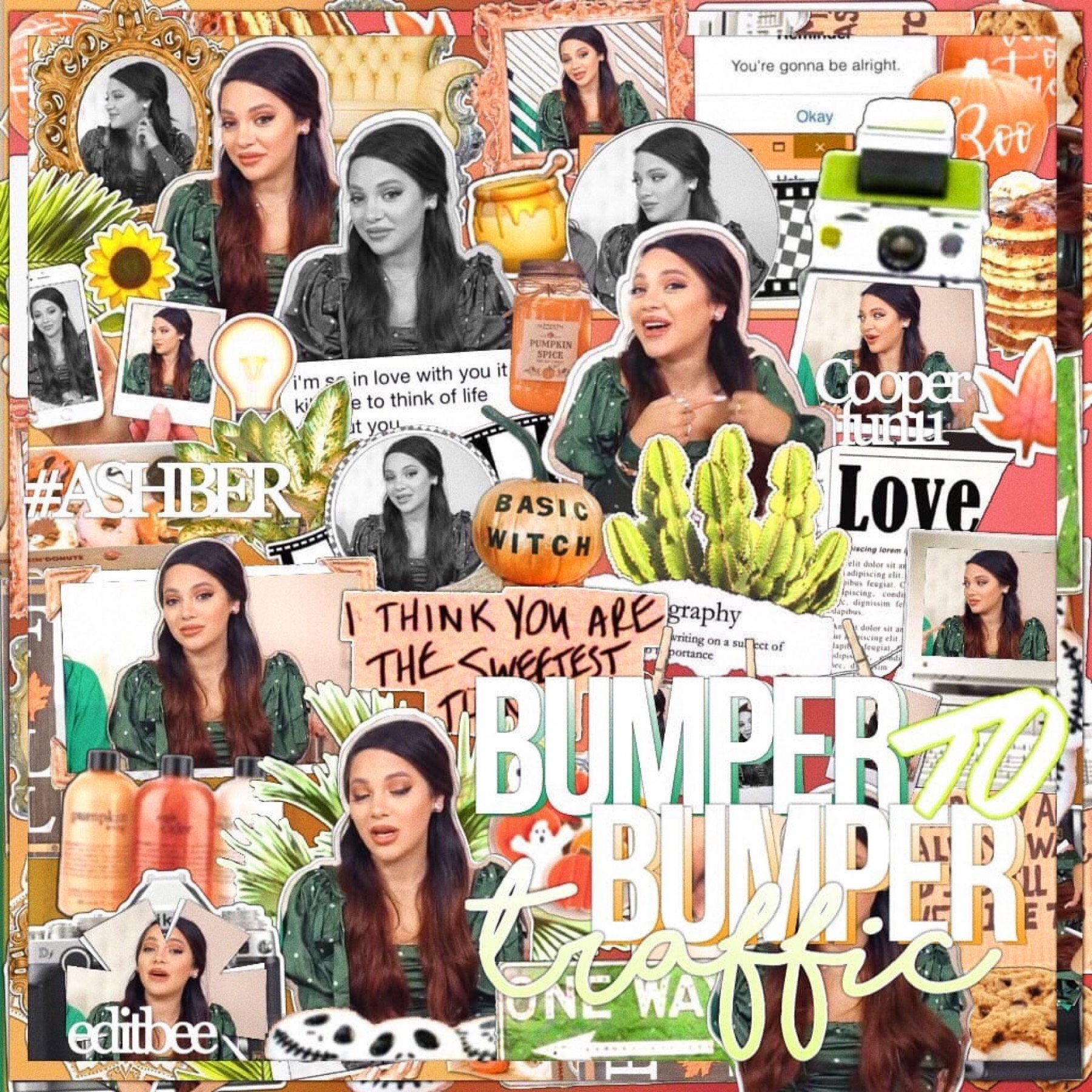 happy sunday!🧡 #ashber collab with the talented @editbee🌻🧸 whi: cooperfun11🍁   9/22/19🖤