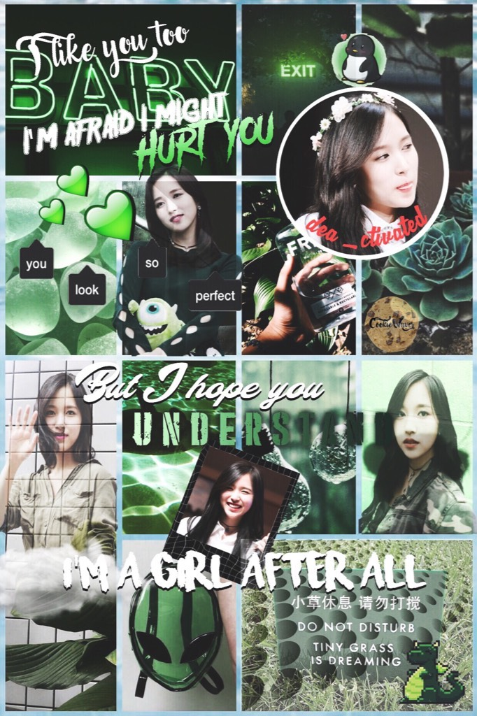 • just posting (tap 💚) • I've made some edits awhile back so I'll just post them here to make space on my phone. I'm using some of my old ideas. 😁 coz I lost inspo