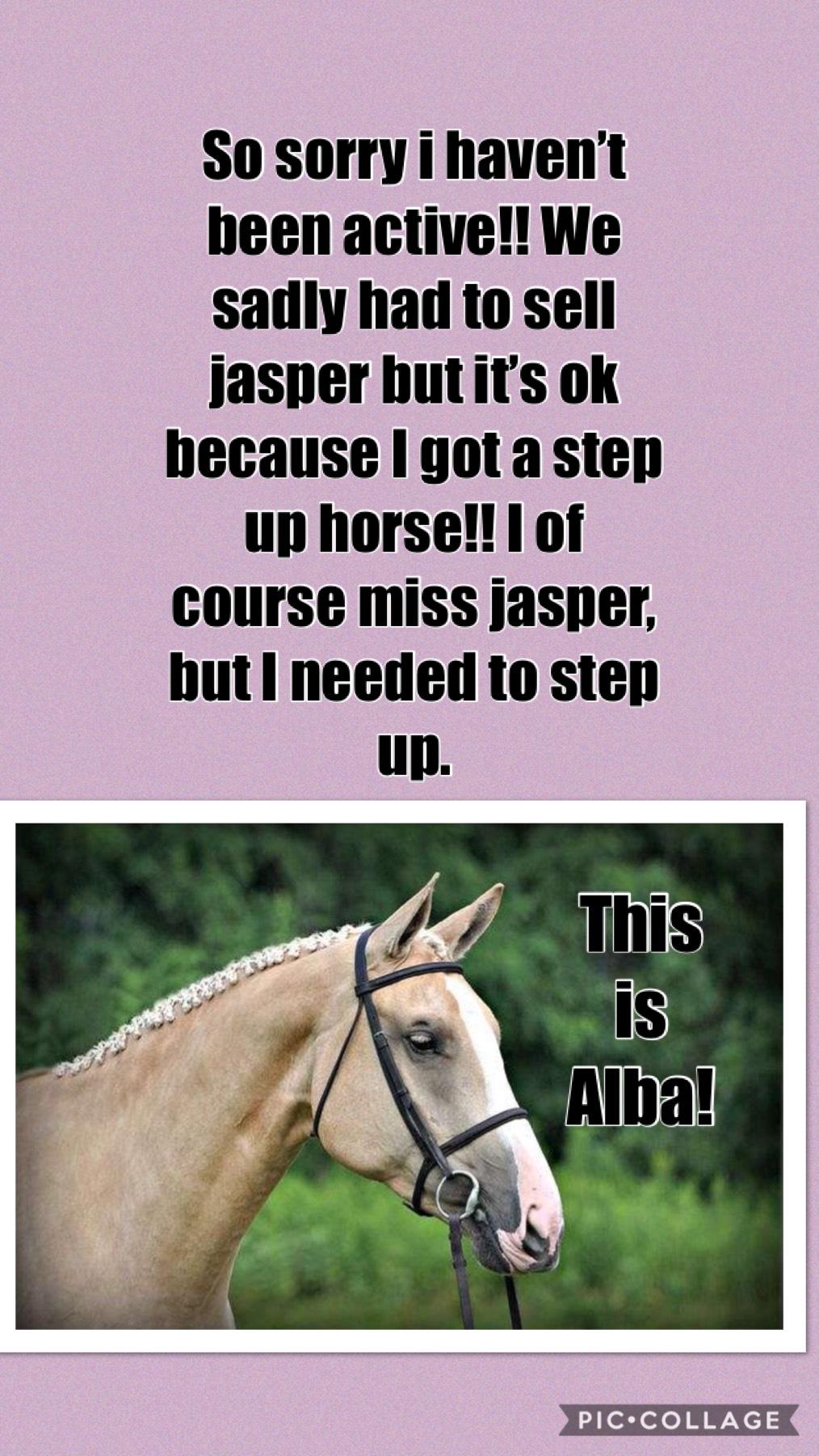 I'm so happy! I miss jasper tho!😢❤️❤️