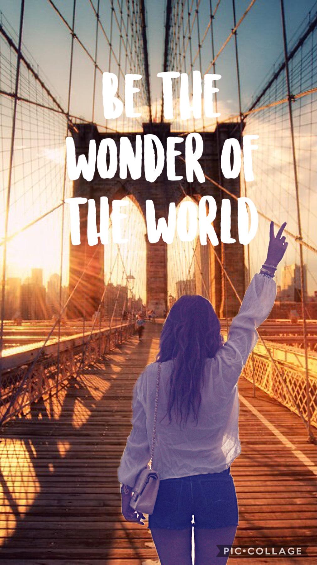 Be The Wonder