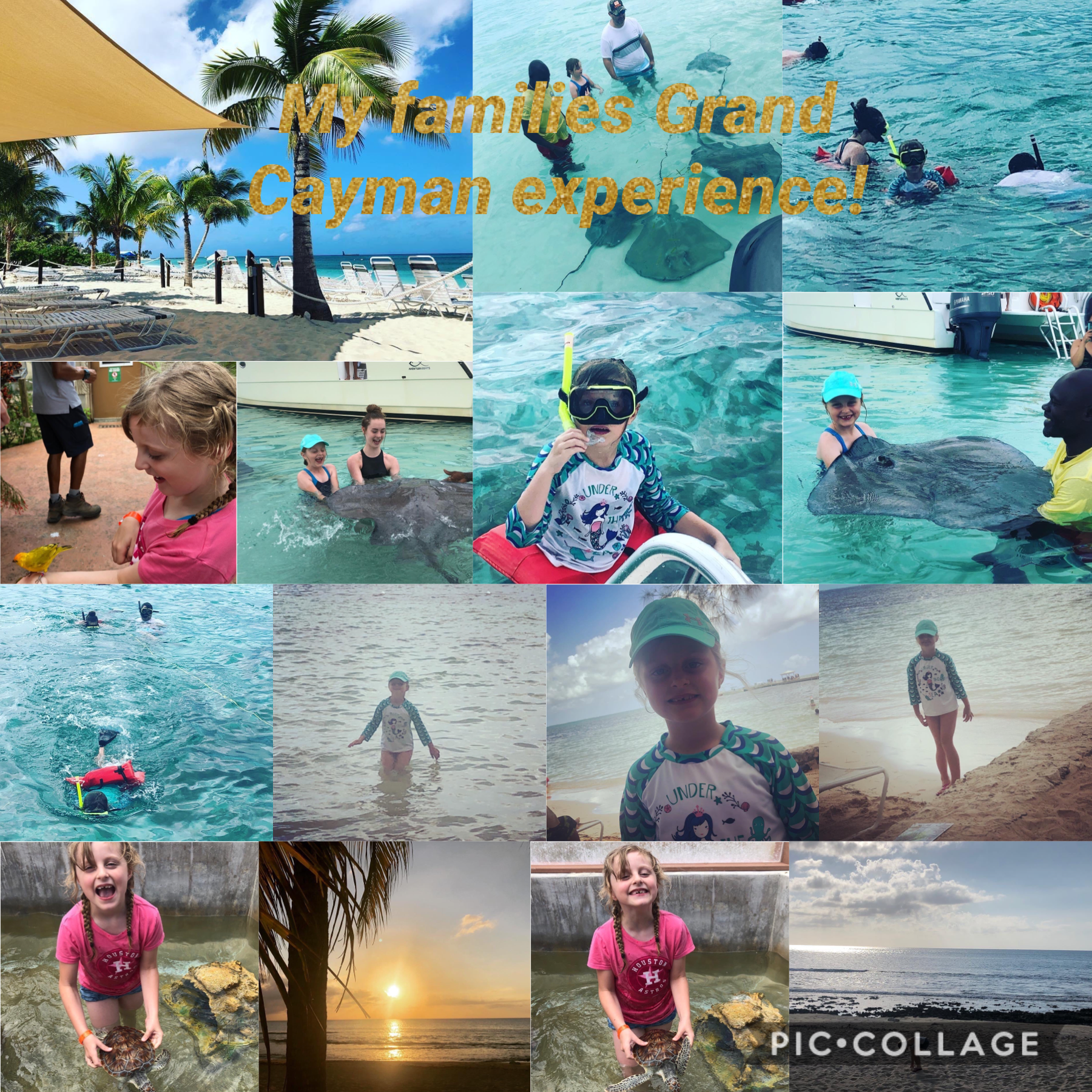My families Grand Cayman experience         This is for my schoolwork btw