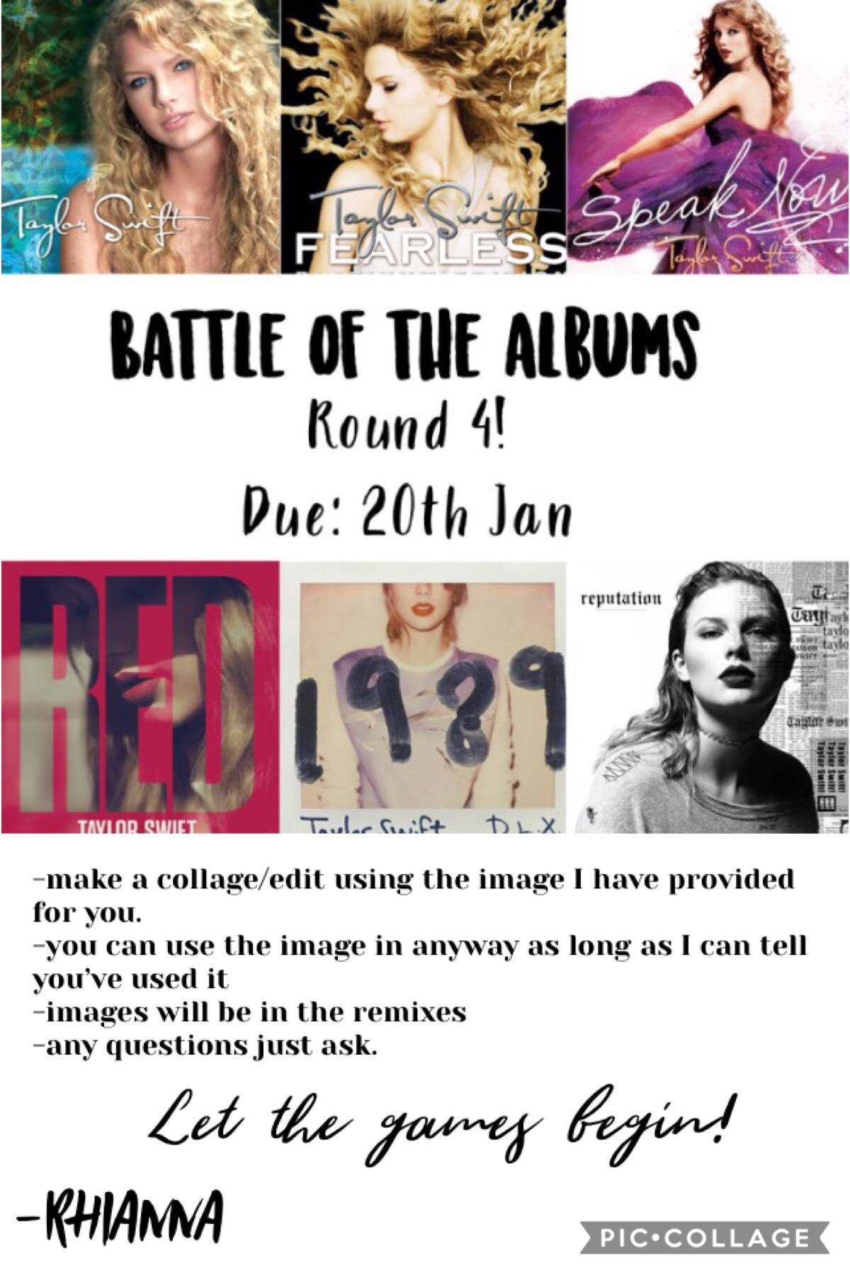 Round 4! Due 20th January!
