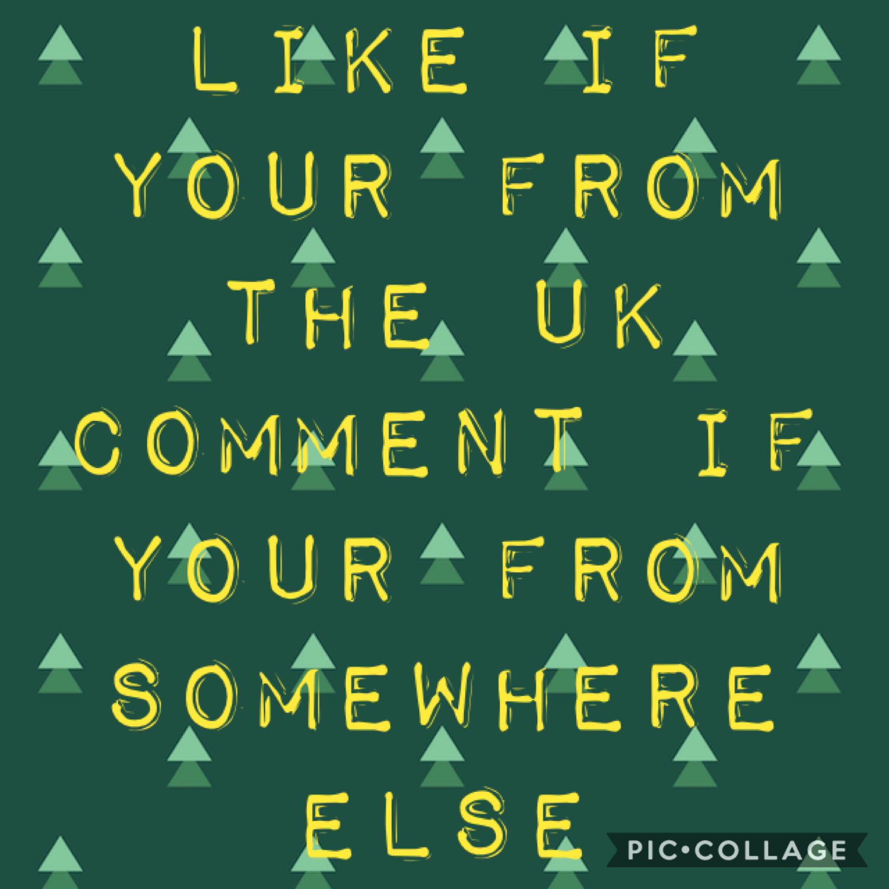 ❤️ I liked cause I'm from the uk❤️