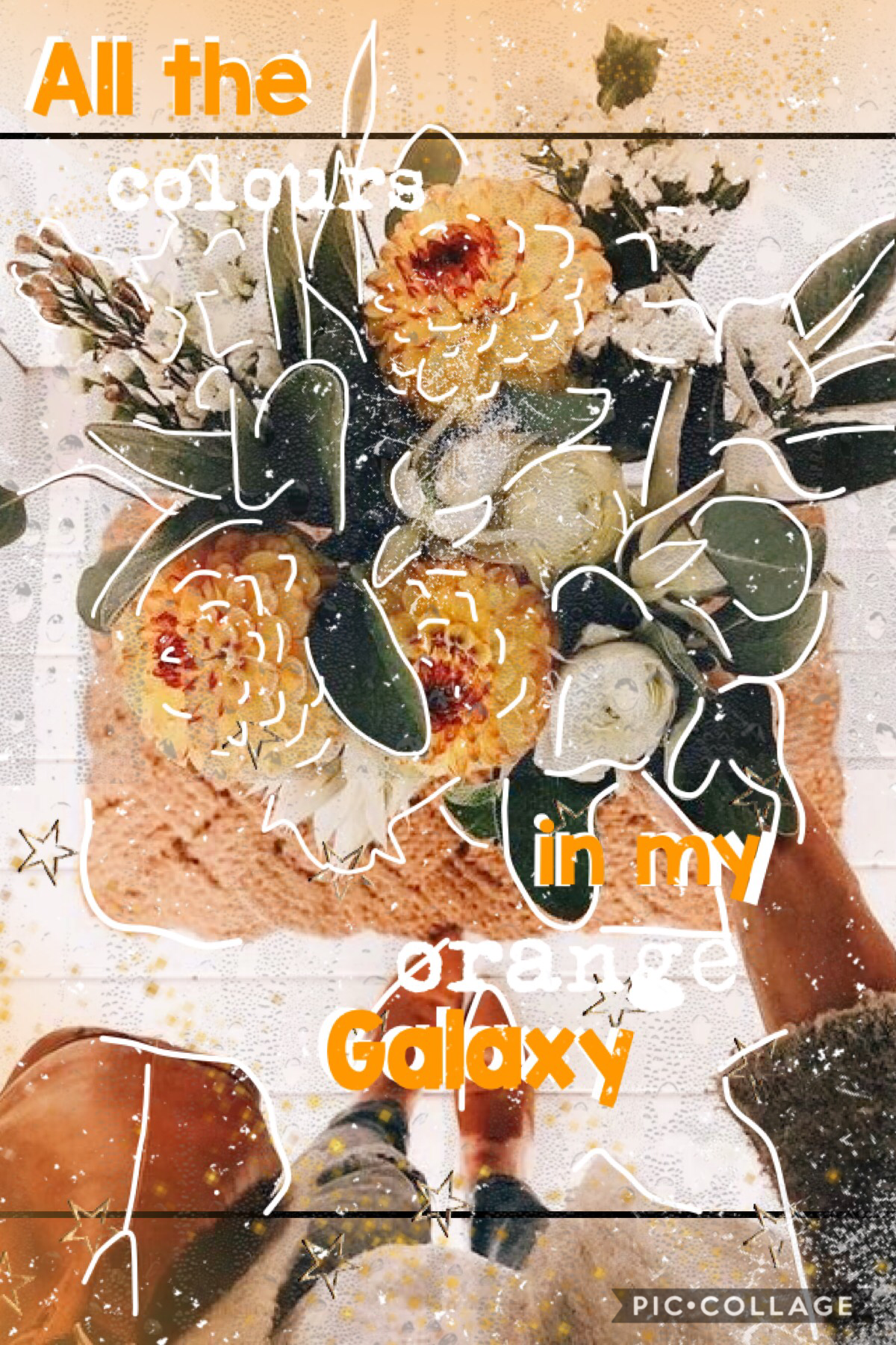 #OrangeGalaxy (Tap)  Orange is my fav colour! What's yours? 🧡🧡🧡