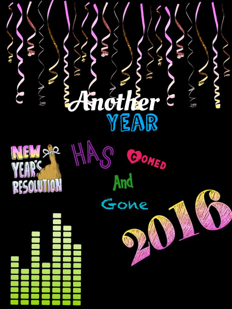 Happy New Years guys
