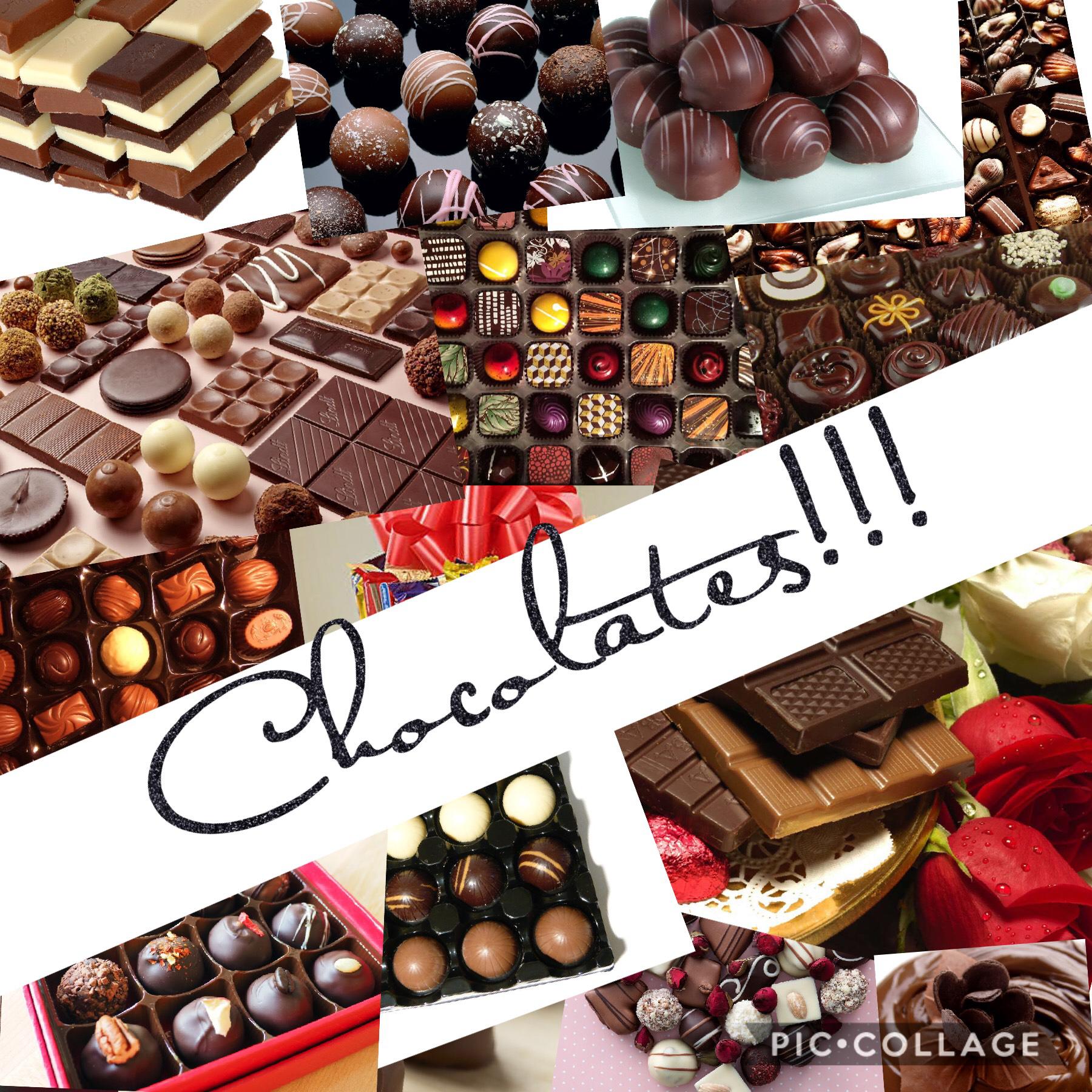 Chocolates 🍫