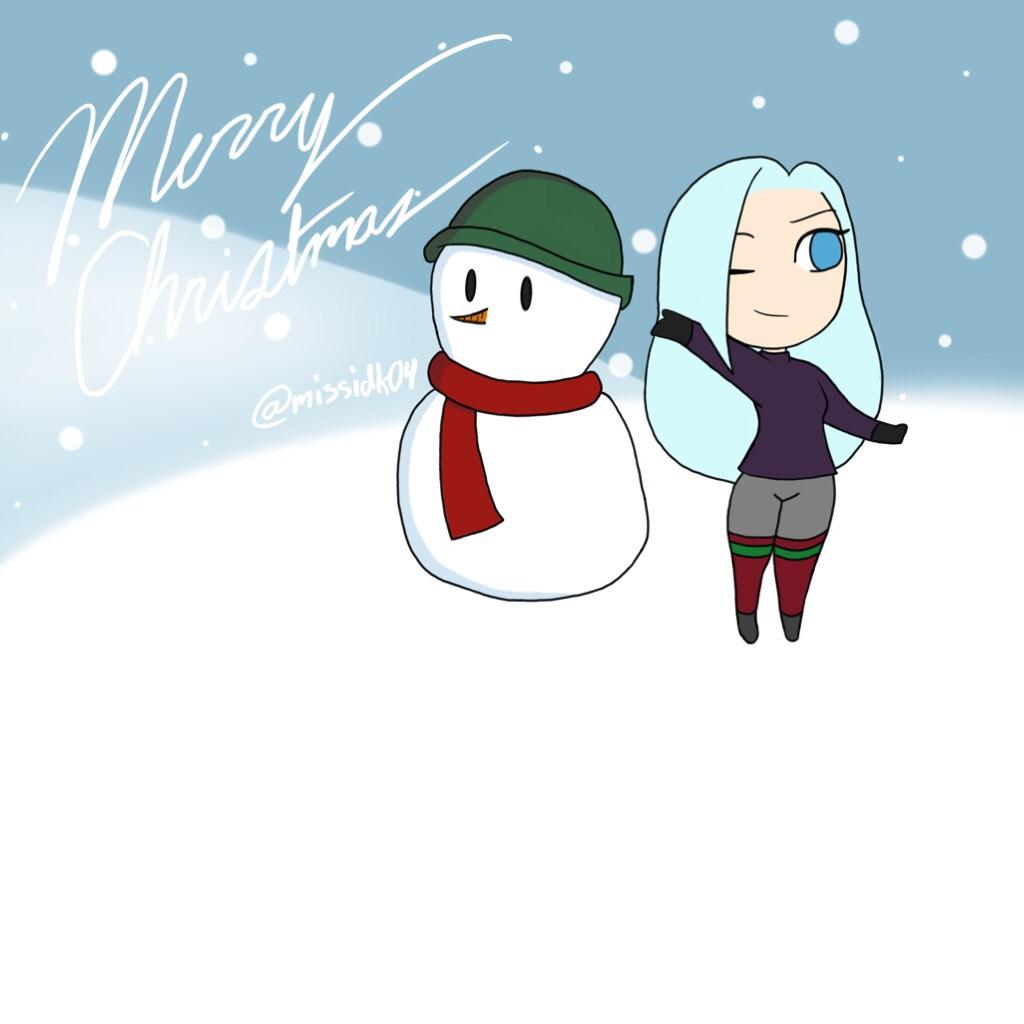 💙TAP HERE💙 A digital piece I made for Christmas! I hope everyone has a merry Christmas!! ♥️ //💙MissIDK