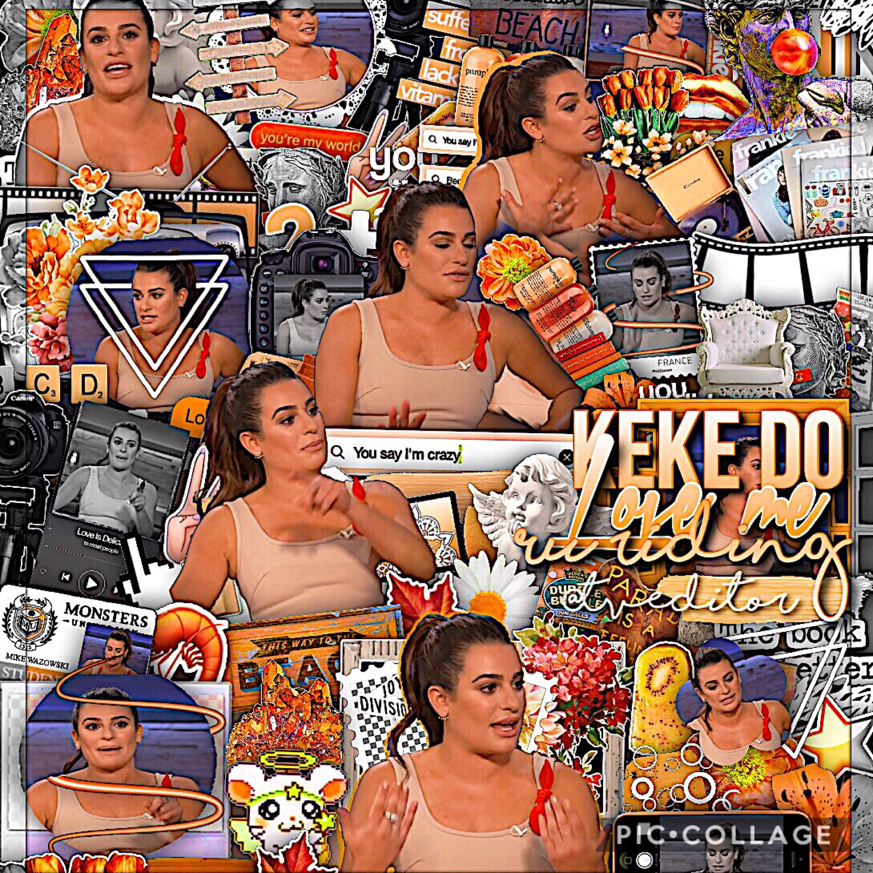 queen of glee 🧡 first post of my fall theme my sister was begging me to this but ya 🍂 2 days until school starts and I'm not ready 💀 but i already created some edits Incase I'm busy :) 3:09 am <- the time I posted