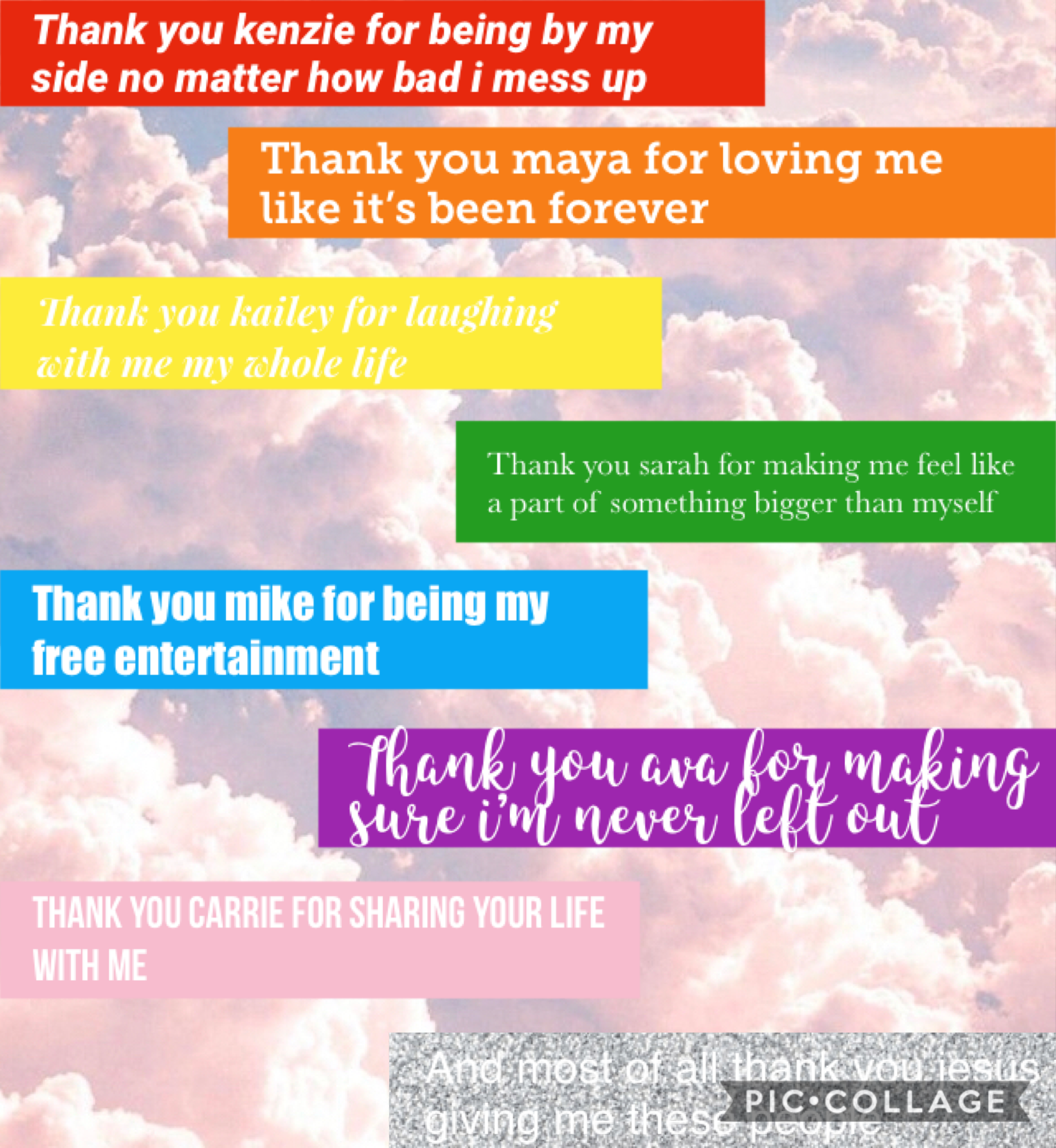 got this idea from -iiCorgiDreams go heck her out and make sure to say thank you to the good people in your life.