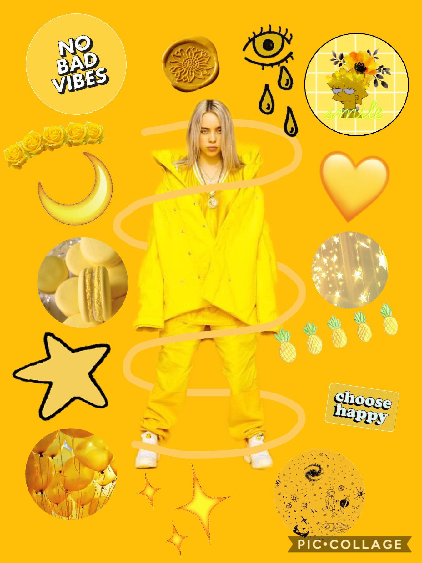 🌼💛Tap Here💛🌼 Billie Eilish yellow aesthetic!