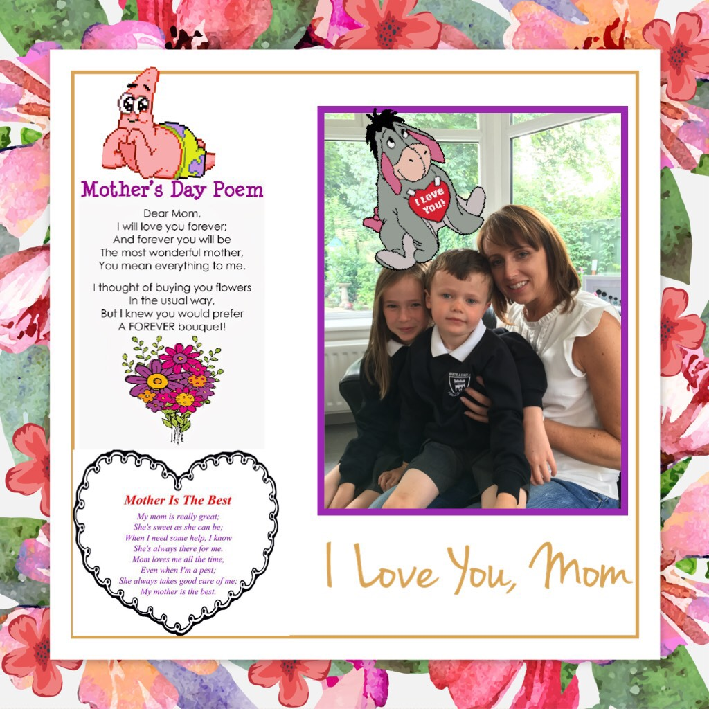 To a special mum from Rebecca