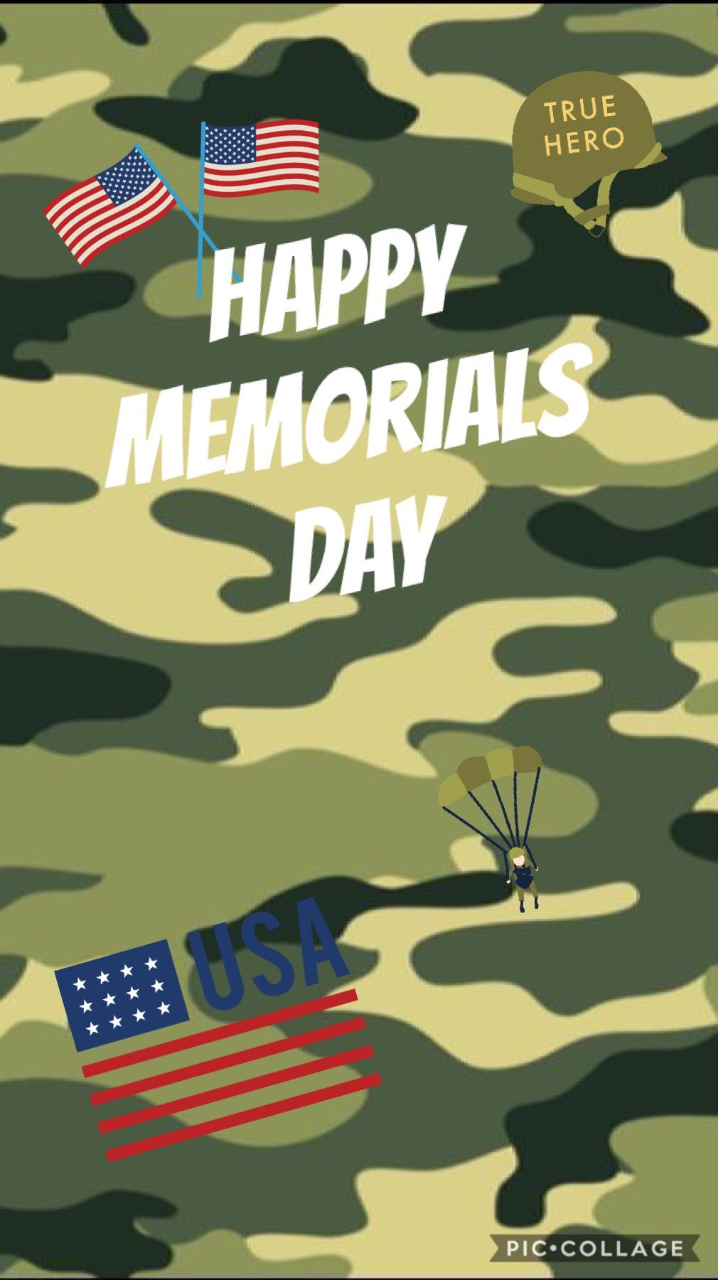 Happy Memorials day