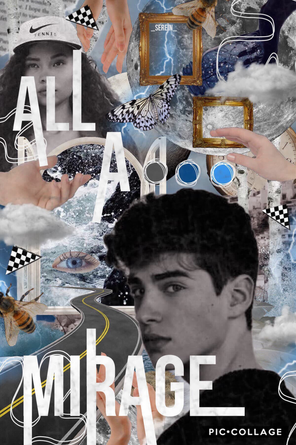 """💧TAP💧 """"All a mirage."""" -me lmaooo 🌫Sending storm vibes at you🌫 You are strong, kind and most importantly, you were born into this world for a reason, which is to make a difference where no one else will. Don't let others define you, and love yourself like"""