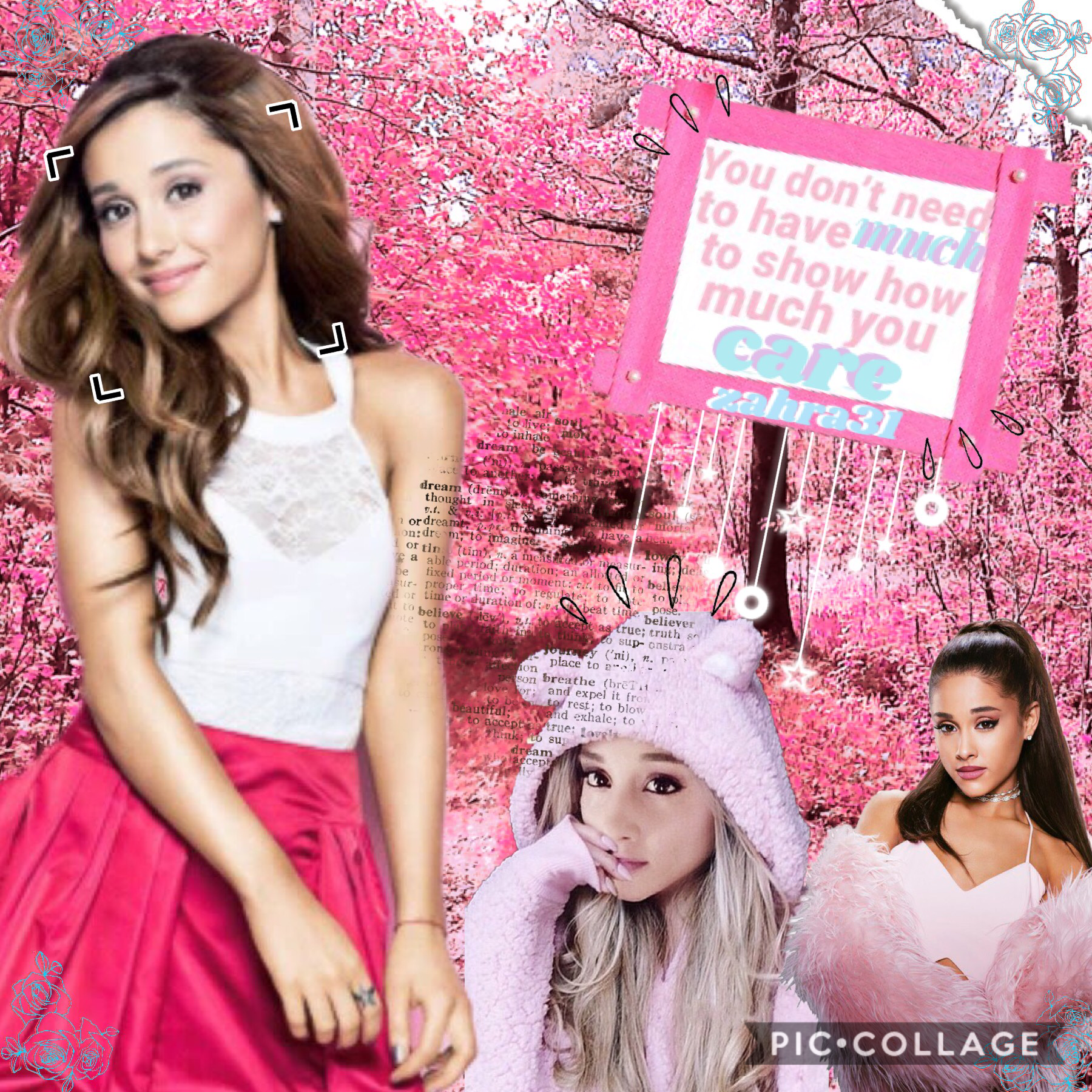 A really cute quote from Ariana grande 💖😊