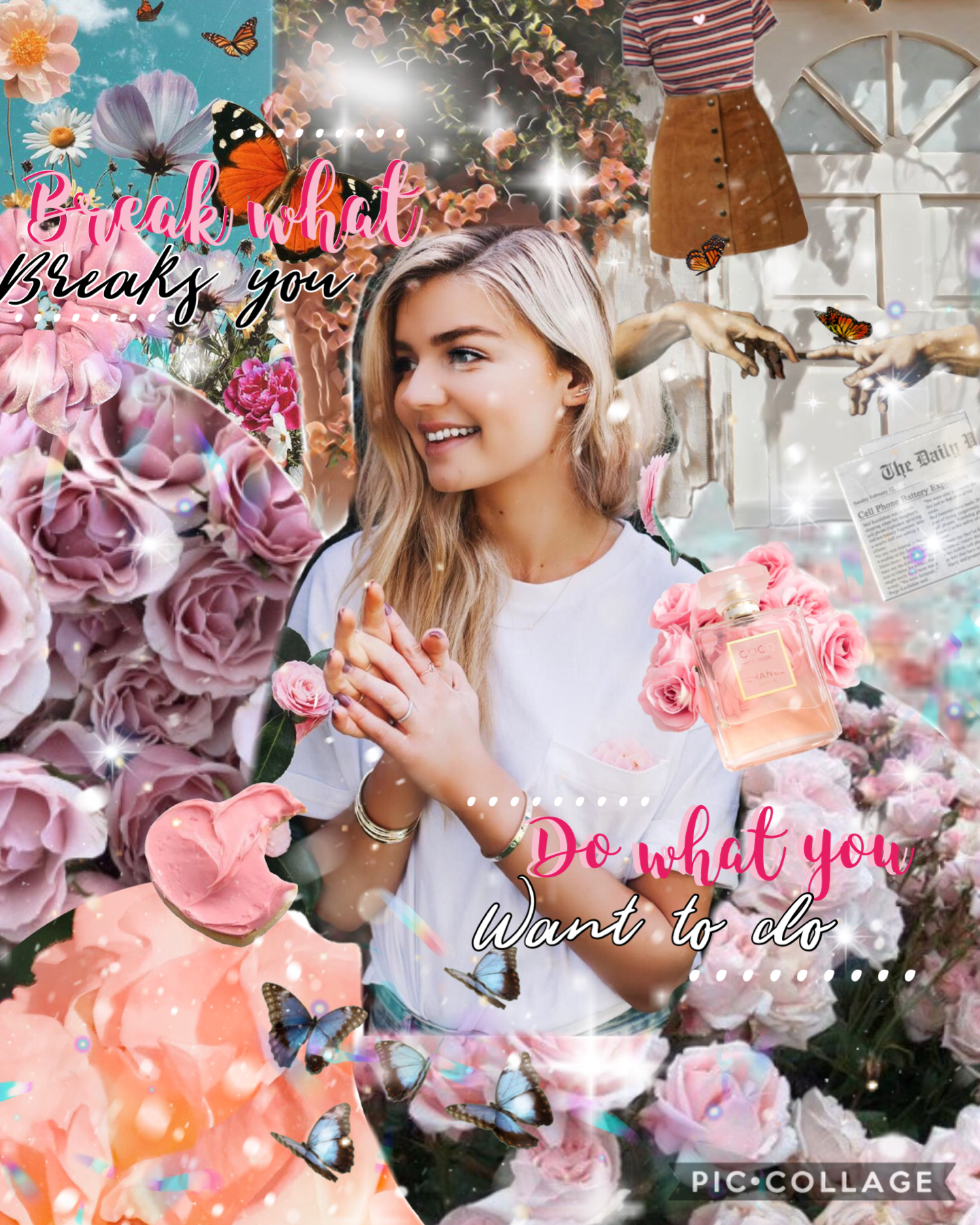 Happy early new years everyone! 💓 I have a couple ideas to celebrate 1k followers, lmk yours in the comments! 💗☀️ hows this collage? still going with this style, what do you guys think of it? Qotd: Fave movie/tv show? 📽📺💓