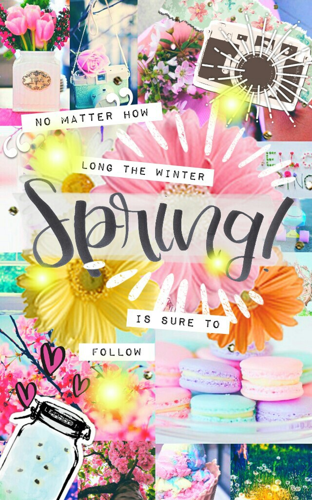 Happy Spring! ♥ I missed you girls SO SO SO MUCH! ♥
