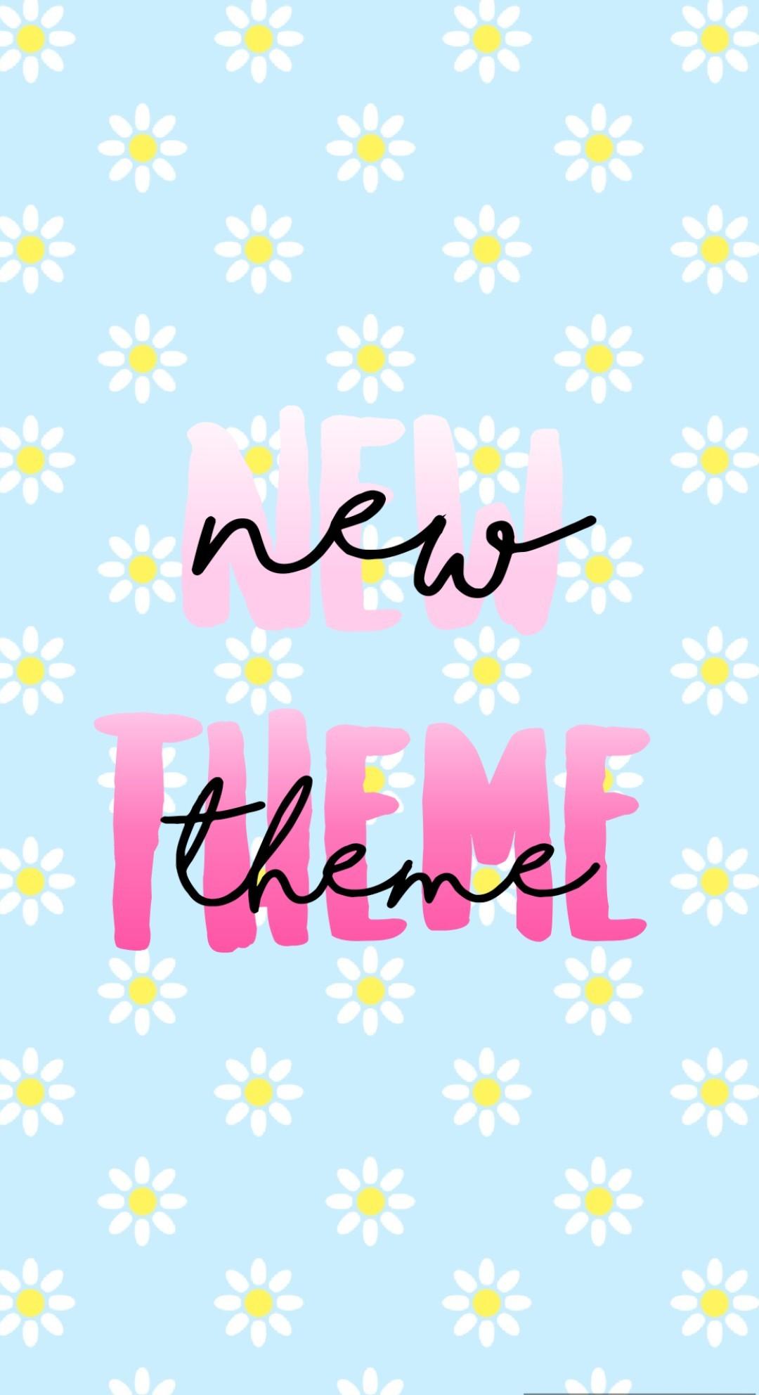new theme: spring