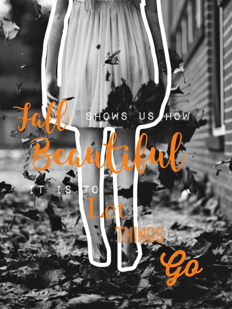 Fall Shows Us How Beautiful It Is To Let Things Go... 🍁🍂