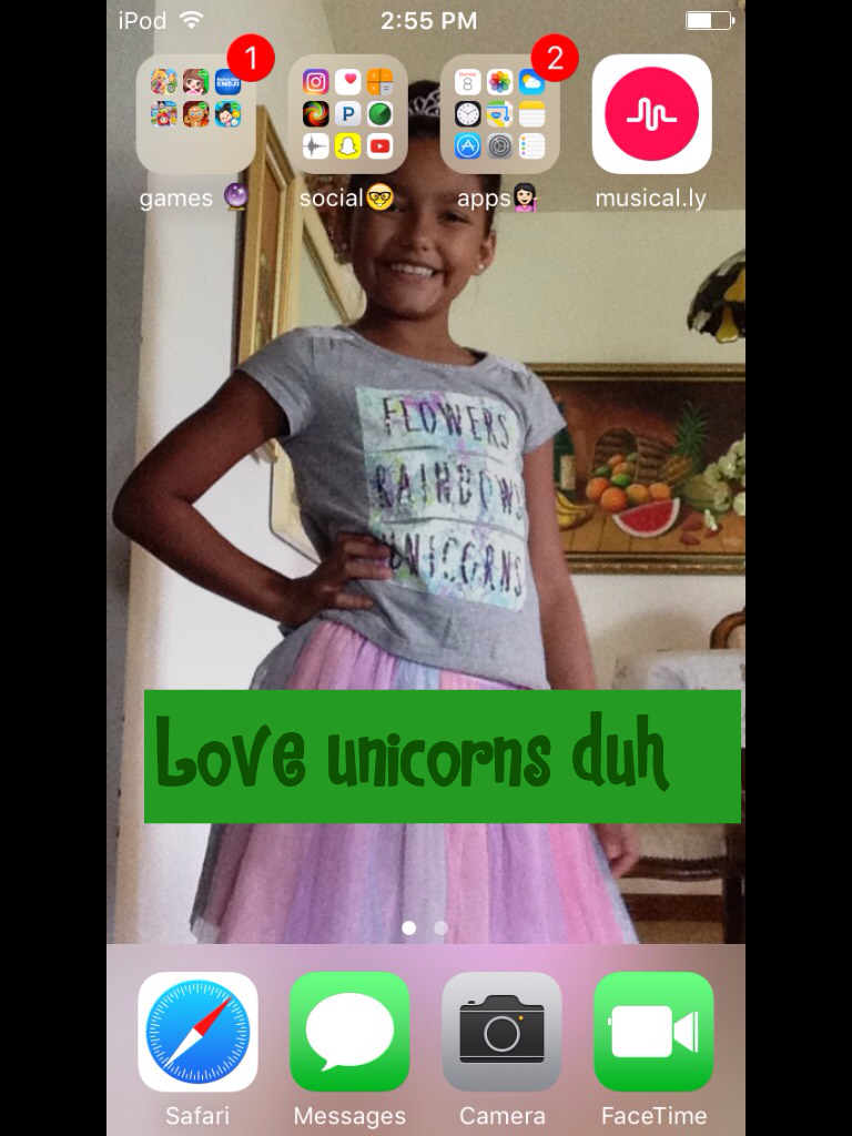 bff love unicorns duh