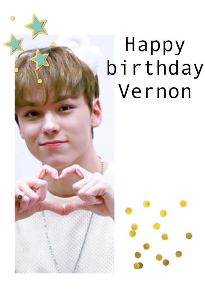 Happy birthday Vernon!!